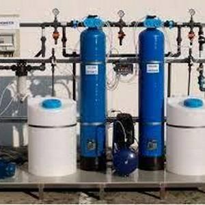sistema de desmineralização da água